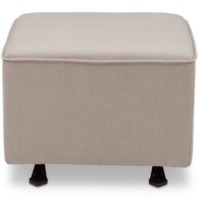 Nursery Glider Cube Ottoman Upholstery: Taupe
