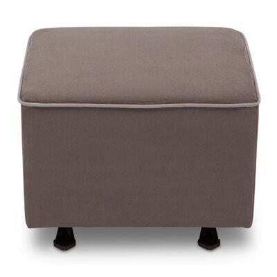 Nursery Ottoman Upholstery: Graphite