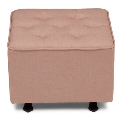 Gliding Cocktail Ottoman Upholstery: Blush