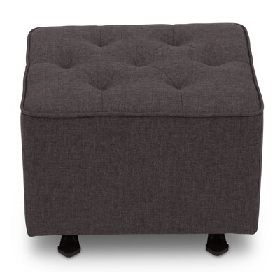 Gliding Ottoman Upholstery: Charcoal