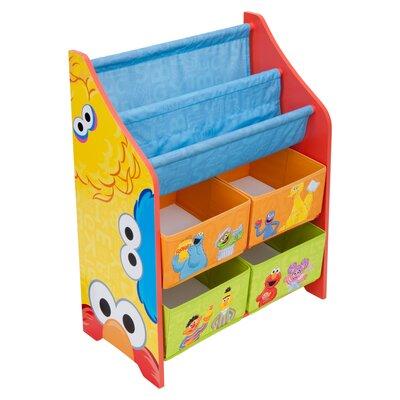 Delta Children Sesame Street Book & Toy Organizer