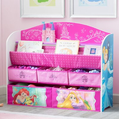 Disney Princess Deluxe Book Toy Organizer TB83409PS-1034