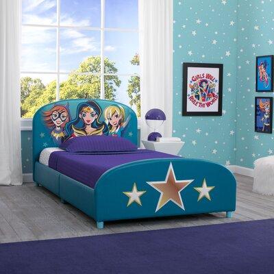 DC Super Hero Girls Twin Panel Bed
