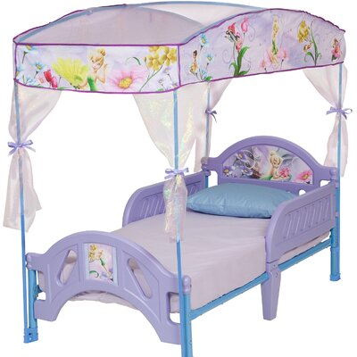 Disney Fairies Toddler Bed with Canopy