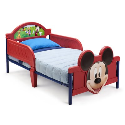 Delta Children Disney Mickey Mouse Convertible Toddler Bed at Sears.com