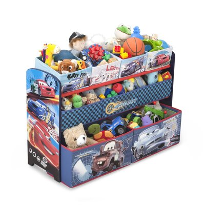 Delta Children Disney Pixar Cars Toy Organizer TB84806CR