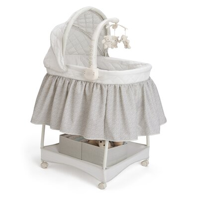 Delta Children Smooth Glide Linings Bassinet 27201-056