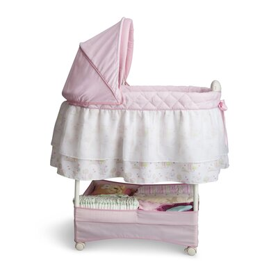Delta Children Disney Princess Gliding Bassinet 27202-661