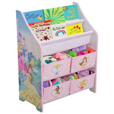 Delta Children Disney Princess Book & Toy Organizer TB84655PS_999