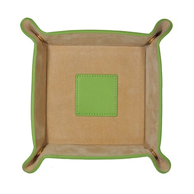Stash Accessory Tray Leather: Cowhide, Color: Spring