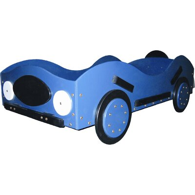 New Style- Race Toddler Car Bed Color: Orange