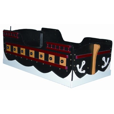 Loan for furniture Pirate Ship Toddler Bed...