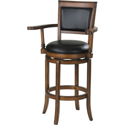 Chelsea Swivel Bar Stool with Cushion
