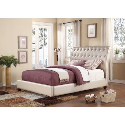 Pitney Upholstery Sleigh Bed