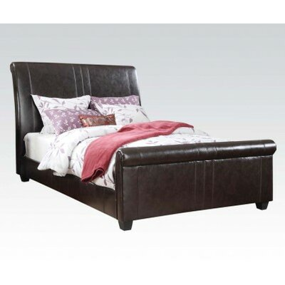 Osborn Upholstery Sleigh Bed