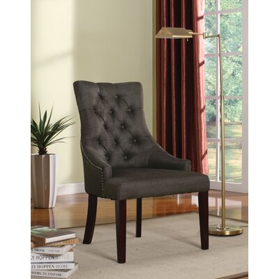 Drogo Side Chair Upholstery Color: Gray