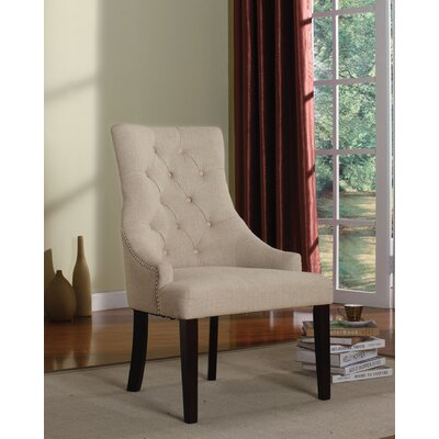 Drogo Side Chair Upholstery Color: Cream