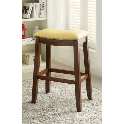 Delta 30 Bar Stool Upholstery Color: Yellow