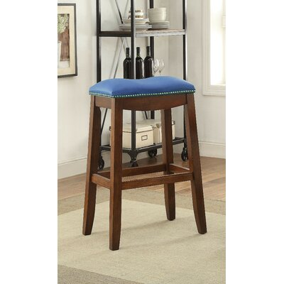 Delta 30 Bar Stool Upholstery Color: Upholstery