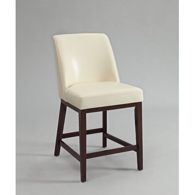 Valor Bar Stool Upholstery Color: Ivory