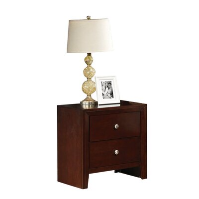 Marlana 2 Drawer Nightstand