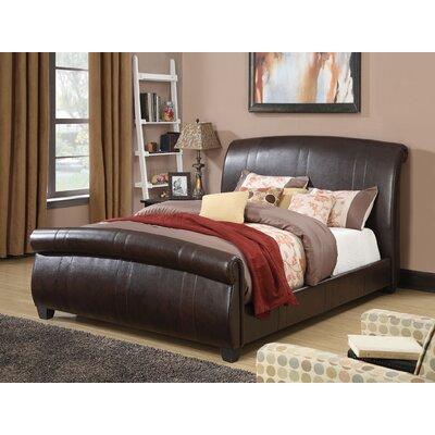 Hammett Upholstery Sleigh Bed