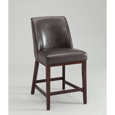 Valor Bar Stool Upholstery Color: Espresso