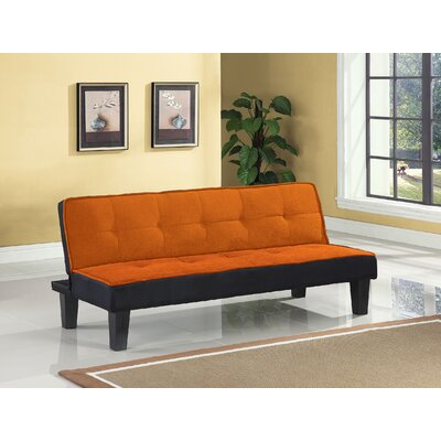 Hamar Sofa Upholstery Color: Orange