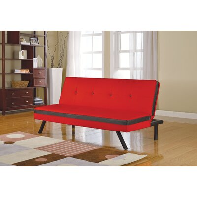 Penly Sofa Upholstery Color: Red