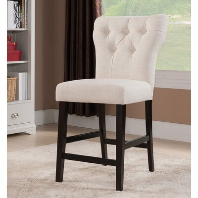 Effie Bar Stool Upholstery Color: Upholstery
