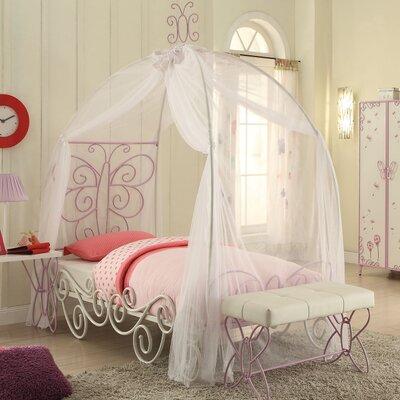 Priya II Canopy Bed Size: Twin