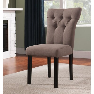 Effie Side Chair Upholstery Color: Light