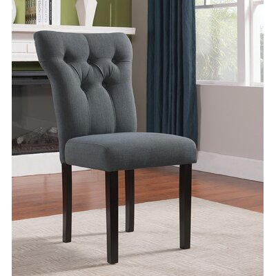 Effie Side Chair Upholstery Color: Gray
