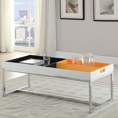 Maisie Coffee Table with Tray Top