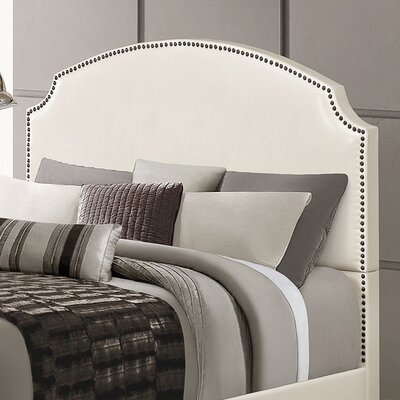 Kristina Upholstered Panel Headboard Size: Queen
