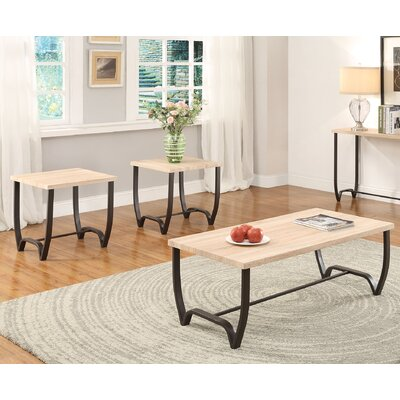 Isidore 3 Piece Coffee Table Set