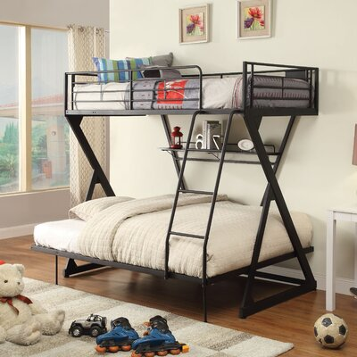 Zazie Bunk Bed with Bookshelf