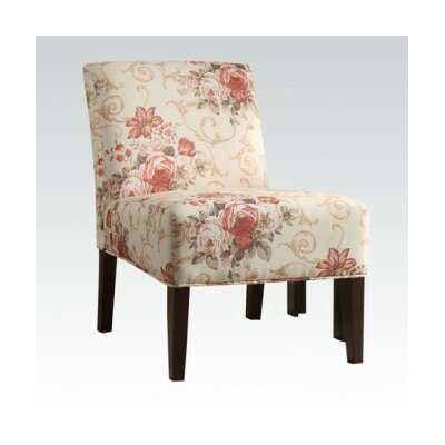 Riston Floral Slipper Chair