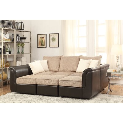 Caisy Reversible Sectional with Ottoman