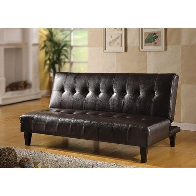 Lewellen Adjustable Sofa Upholstery: Espresso