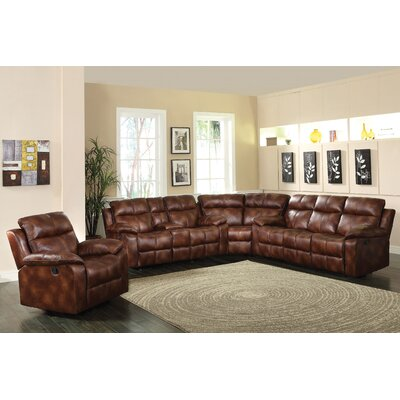 ACME Furniture CMU1927 Dyson Reversible Reclining Sectional