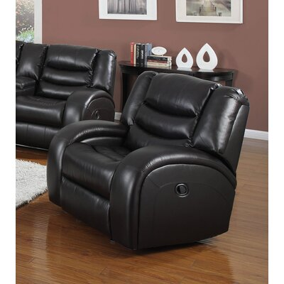 Dacey Glider Leather Recliner