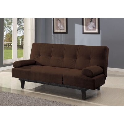 Cybil Convertible Sofa Upholstery: Brown