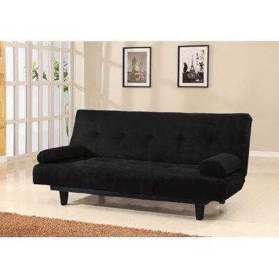 Cybil Adjustable Sofa Upholstery: Black