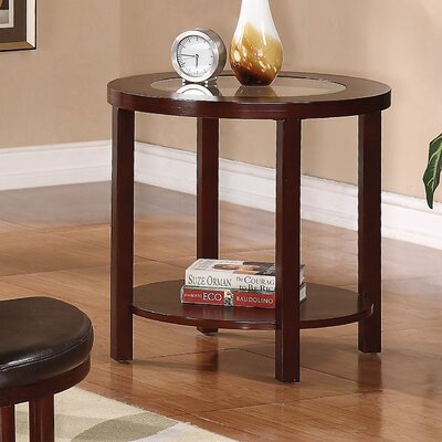 Patia End Table Color: Cherry