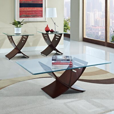 Elhan 3 Piece Coffee Table Set
