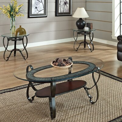 Ingo 3 Piece Coffee Table Set
