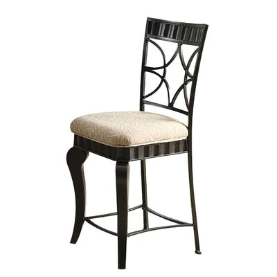 Galiana Bar Stool (Set of 2) Upholstery: Brown