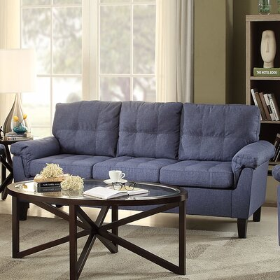 Cleavon Sofa Upholstery: Blue