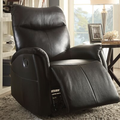 Riso Rocker Recliner Upholstery Color: Brown